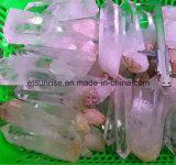 Pontos ásperos do cristal de rocha da pedra Semi preciosa