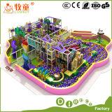 Campo de jogos interno macio feito na corrediça Inflactable da esponja do estilo do oceano do projeto de China