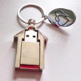 Metallhaus-Grundbesitz-förderndes Geschenk-Inneres USB-Blinken-Laufwerk