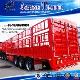 Aanhangwagen van de Vrachtwagen van het Vervoer van de Lading van het Type van Staaf van het pakhuis de Semi (LAT9404CLXY)