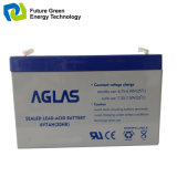 bateria acidificada ao chumbo do AGM 6V7ah para o sistema de alarme da segurança da luz Emergency