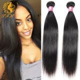 Выдвижение волос 100% бразильское шелковистое прямое Vrigin Remy (D-20)