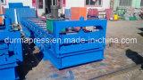840/860/900 de aço da cor coloriu o rolo do telhado que dá forma à máquina