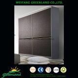 Holz täfelt Garderobe mit modernem Entwurf