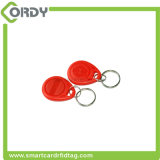 Os ABS coloridos de 125kHz T5577 Waterproof o Tag de Keyfob do hotel de RFID