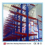 O racking Cantilever, China galvanizou o racking Cantilever high-density Reino Unido do armazém Q235