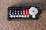 8 Rad-Gas-Messinstrument-Kostenzähler, Gas-Messinstrument Enclouser (LH-G23)