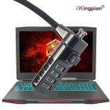 Digit-Notizbuch und Computer-Kabel PC Verschluss