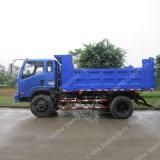 アフリカの市場のための熱い販売4X2 10ton 8m3のダンプカートラック