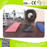 Suelo de goma del azulejo de /Recycle del suelo de los ladrillos de la gimnasia de goma de goma de /Crossfit