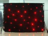 Vorhänge des LED-helle Stern-Anblick-Tuch-LED für Stern-Tuch Stadiums-Hintergründe RGB-LED