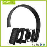 Auricular plegable de la estereofonia de Bluetooth del regalo promocional de la Navidad Qcy50