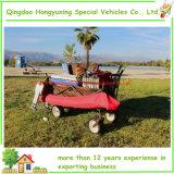 Wagen van de Paraplu van het strand de Openlucht Vouwende met de Opvouwbare het Kamperen Lijst van de Kar