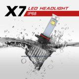 9005 3600lumens 40W 6000k faros de LED para los coches