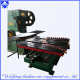 Máquina de perfuração lisa de carimbo automática do CNC das arruelas
