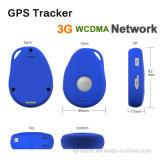 Sos Function& 경보를 가진 3G IP66 소형 GPS 추적자는 아래로 넘어진다