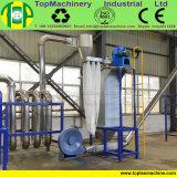 Animal de estimação da capacidade elevada que esmaga a linha para recicl frascos plásticos de lavagem com arruela quente