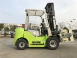 Forklift de papel do diesel da braçadeira 2t do rolo