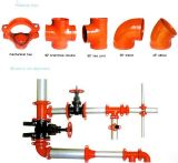 FM/UL Approved Ductile Iron Threaded Reducing Tee mit Low Price