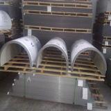 Panneau composé en aluminium incurvé