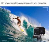 WiFi 1080P 2.0 '' 2.0m caméra vidéo imperméable à l'eau de 120 de degré de vue sports de cornière