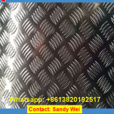 hoja Checkered de aluminio de la placa 1100 3003 5754 6063