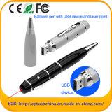 Kundenspezifischer Logo USB Flash Drive mit Ballpoint Pen USB (EP001)