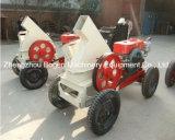 ディーゼル機関を搭載する高容量の移動式木製の砕木機