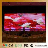 Exhibición de LED publicitaria de interior de la echada 4m m
