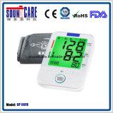 Moniteur éclairé à contre-jour coloré médical de pression sanguine de bras de Digitals (point d'ébullition 80FH)