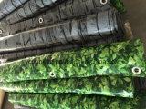 100%UV resistenza, rete fissa antivento del coperchio del balcone del PVC di Buchubaum 0.9m*6m