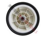 편평한 자유로운 타이어를 가진 10X3/Golf PU 거품고무 바퀴