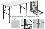 吹く型の鋼鉄HDPEの折りたたみ式テーブル