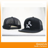 5 sombreros de béisbol de cuero del Snapback de la corrección de la insignia del panel