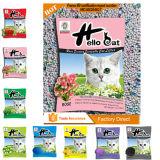 Heiße Haustier-Bentonit-Babypuder-Katze-Sänfte Slica Qualität des Verkaufs-2016 und Aufhäufung