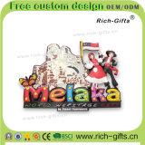 Les aimants de réfrigérateur de PVC du souvenir 3D ont personnalisé des cadeaux Malaisie (RC-MA) de promotion