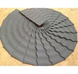 Tuile de toiture enduite enduite en pierre glacée par métal direct d'usine