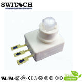 SGS White Electronical Micro Staub-Proof 3 Way Position Waterproof Rocker Switch Used in Industrial Electronic Equipment