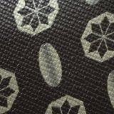 Cuoio del PVC del cuoio di stampa del cuoio della casella del reticolo del Toothpick del PVC di alta qualità di certificazione dell'oro dello SGS