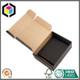 Rectángulo de envío de papel coloreado de un sólo recinto de la cartulina del barniz brillante