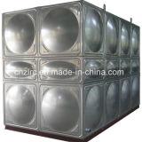 El tanque de agua modular del acero inoxidable