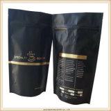 Sacchetti impaccanti di alluminio del commestibile del caffè a chiusura lampo poco costoso del con la valvola