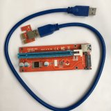 SATA 15 pinos Power Mini PCI-E Express Riser para Bitcoin Mining