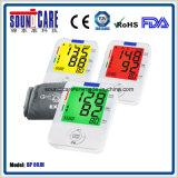 Fabrik-elektronischer Digital-Arm-Typ Blutdruck-Monitor (BP 80JH) mit von hinten beleuchtetem