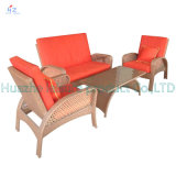Sofa di vimini Outdoor Rattan Furniture Chair Table Wicker Furniture Rattan Furniture per Outdoor Furniture