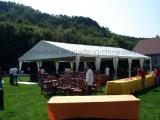 150人のアルミニウム構造PVCファブリックグループの結婚式のテント10m*18m