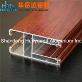 Profil en aluminium d'OEM 6063 T5 Extruted de matériau de construction pour la porte de guichet