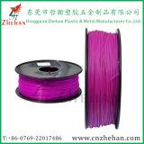 3D direttamente filamento della stampante di legno PVA 3D del PC PETG di PA di PLA dell'ABS dei filamenti 1.75mm/3.0mm di stampa della fabbrica 3D
