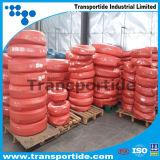 Le fil d'acier a tressé le boyau hydraulique couvert par caoutchouc renforcé (SAE100 R1-1/4)