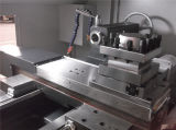 Máquina horizontal do torno do CNC do metal da elevada precisão do servo motor Ck50